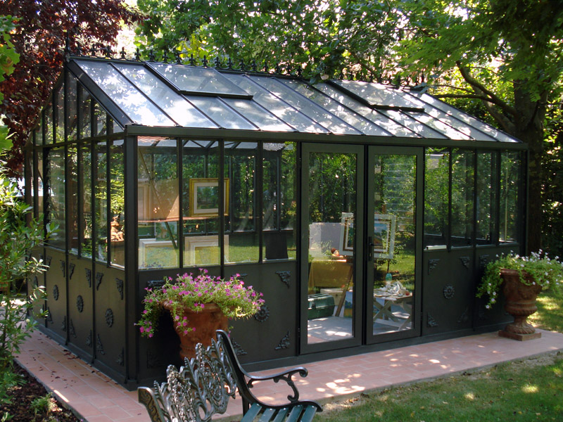 serre de jardin en verre orangerie import garden belgique. Black Bedroom Furniture Sets. Home Design Ideas