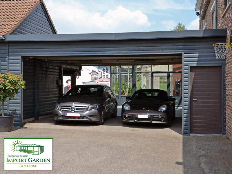 Le Carport Moderne on montage garage bois