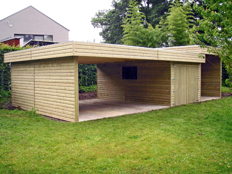 double carport sur mesure Cover Concept