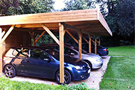 carport commun Concept Abri by Import Garden thumb